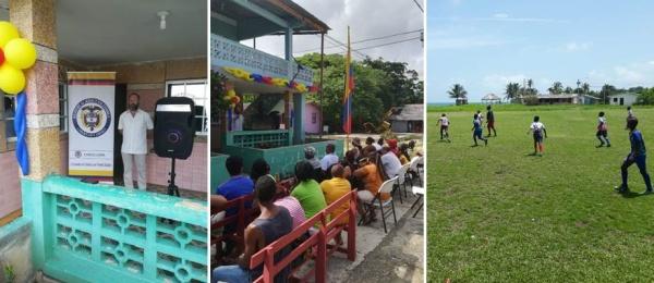 Consulado de Colombia en Puerto Obaldía celebró los 209 años de la Independencia Nacional