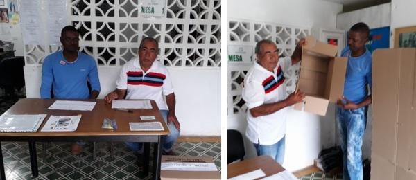 Inició la jornada electoral presidencial 2018 para la segunda vuelta en el Consulado de Colombia en Puerto Obaldía